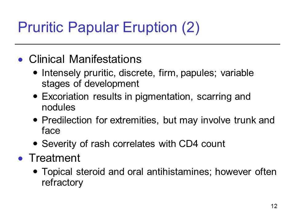 Pruritic Papular Eruption (2)