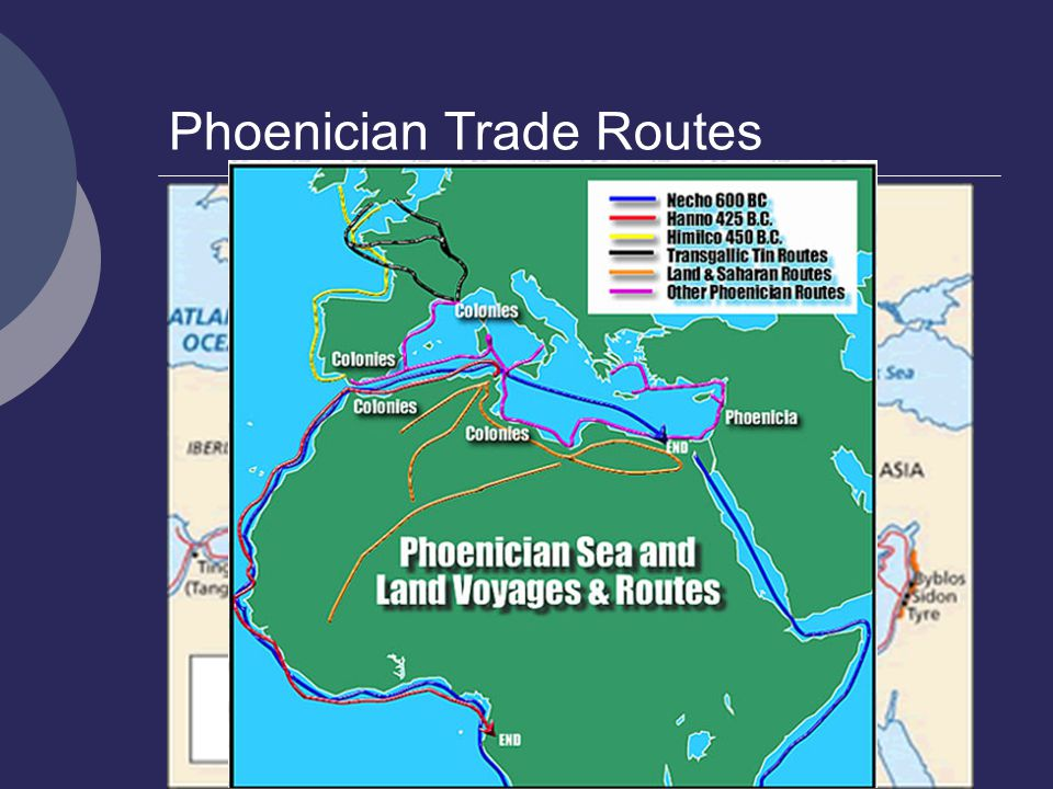 Phoenician Trade Routes