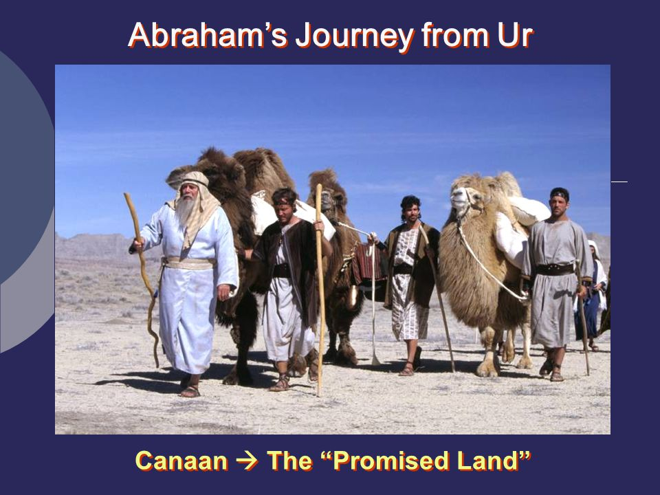 Abraham's Journey from Ur Canaan  The Promised Land