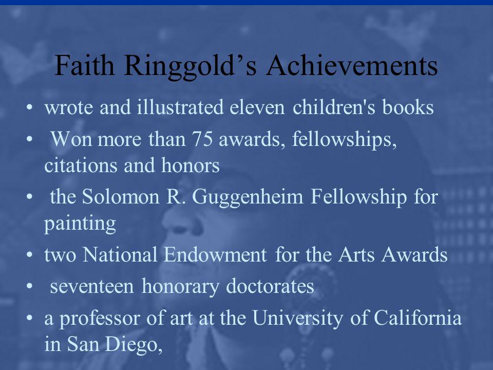 Faith Ringgold's Achievements