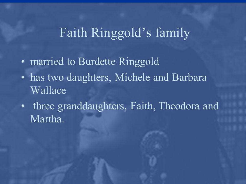 Faith Ringgold's family