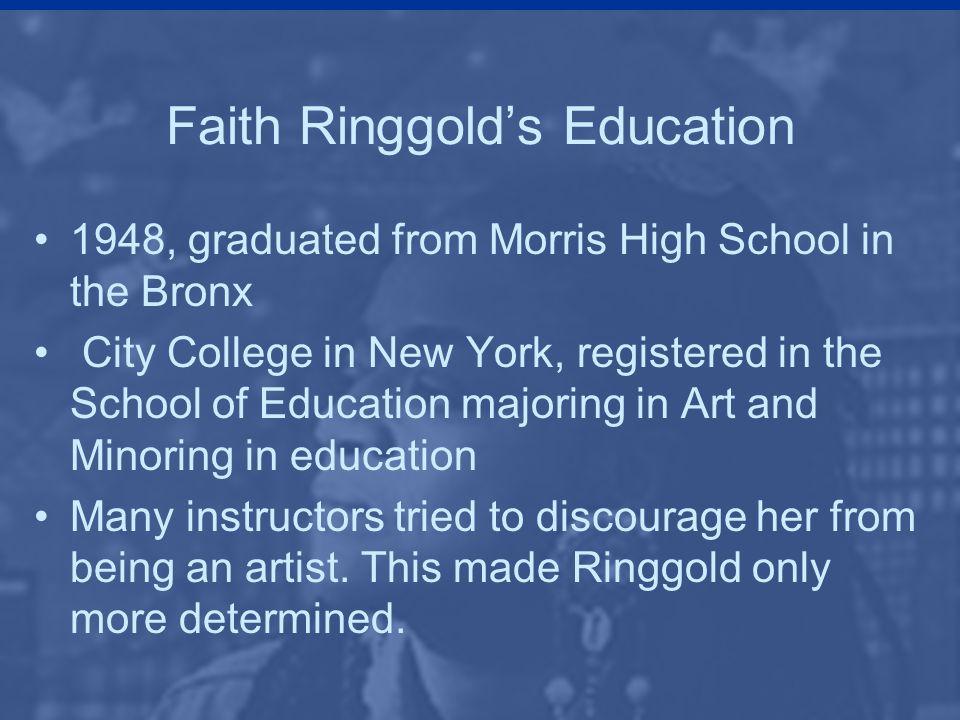 Faith Ringgold's Education