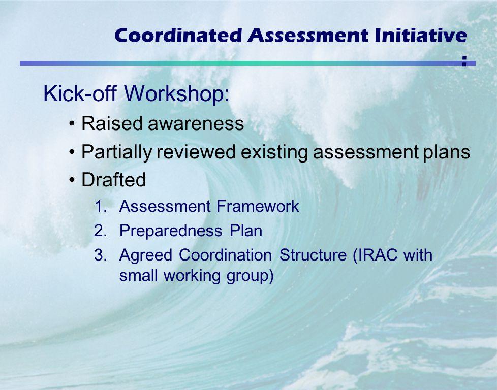 Coordinated Assessment Initiative :