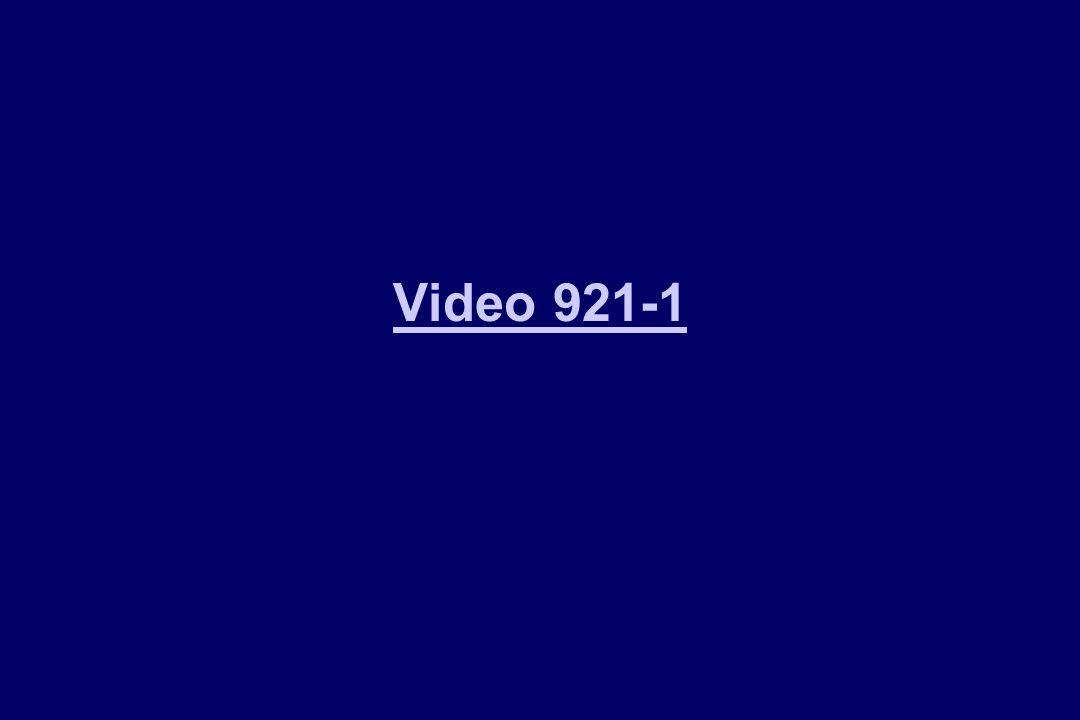 Video 921-1