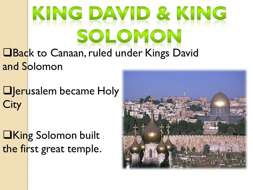 King David & King solomon