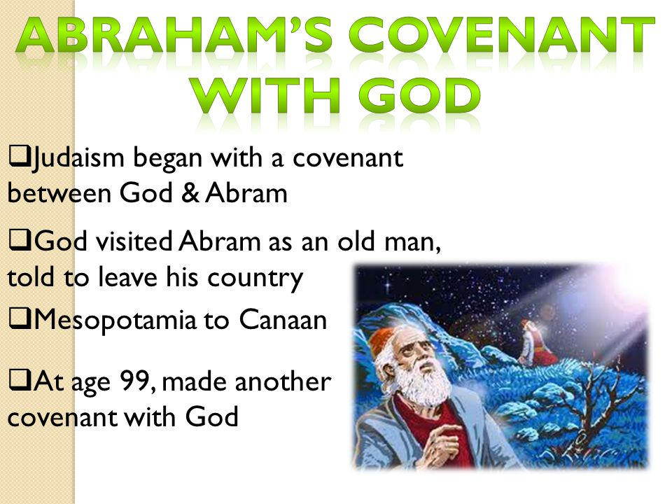 Abraham's covenant with god