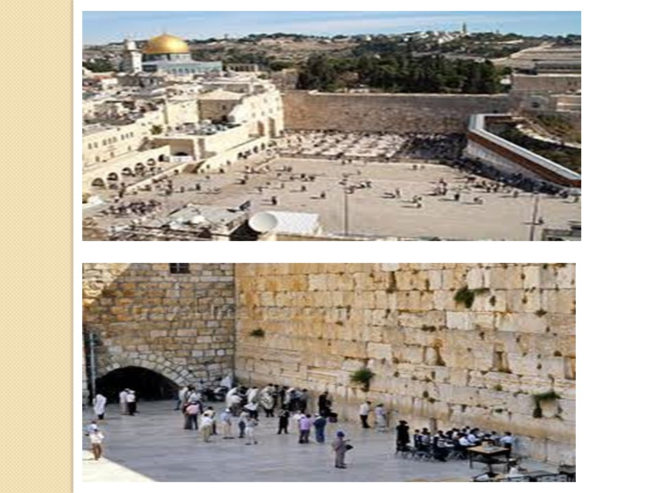 Western Wall built by King Solomon