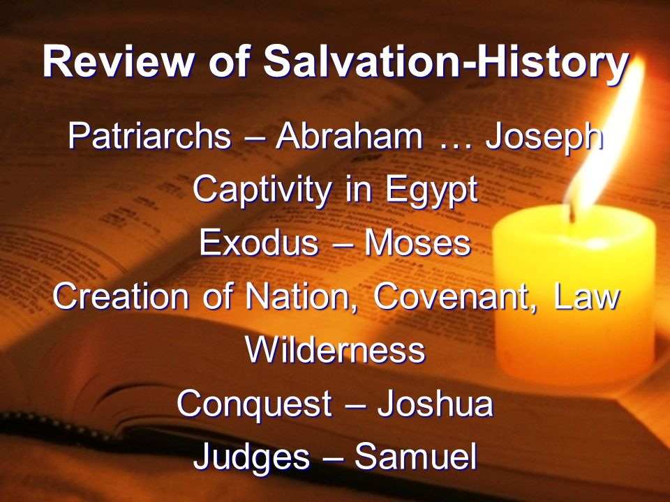 Review of Salvation-History