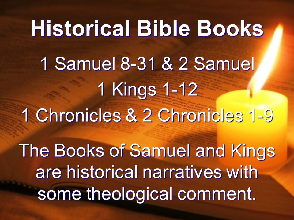 Historical Bible Books