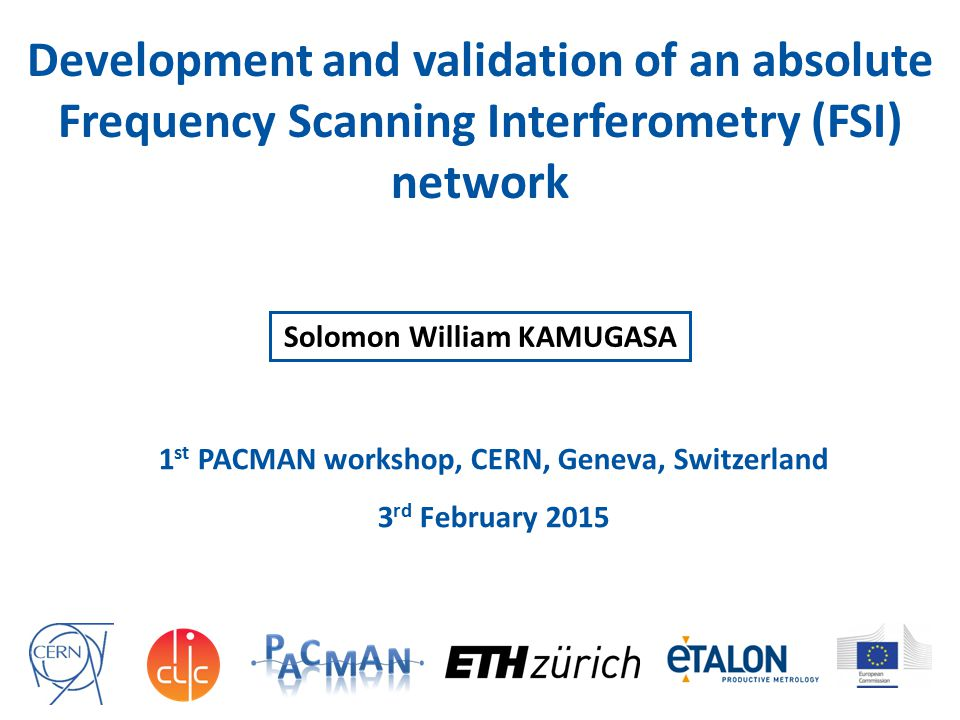 Development and validation of an absolute Frequency Scanning Interferometry (FSI) network