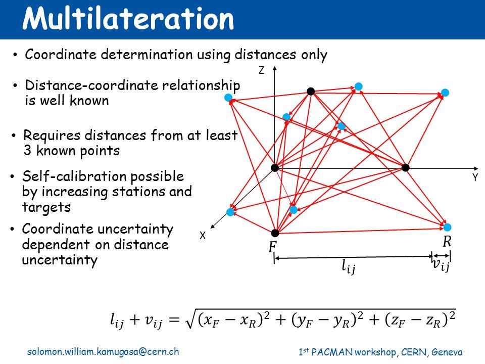 Multilateration 𝑅 𝐹 𝑣 𝑖𝑗 𝑙 𝑖𝑗