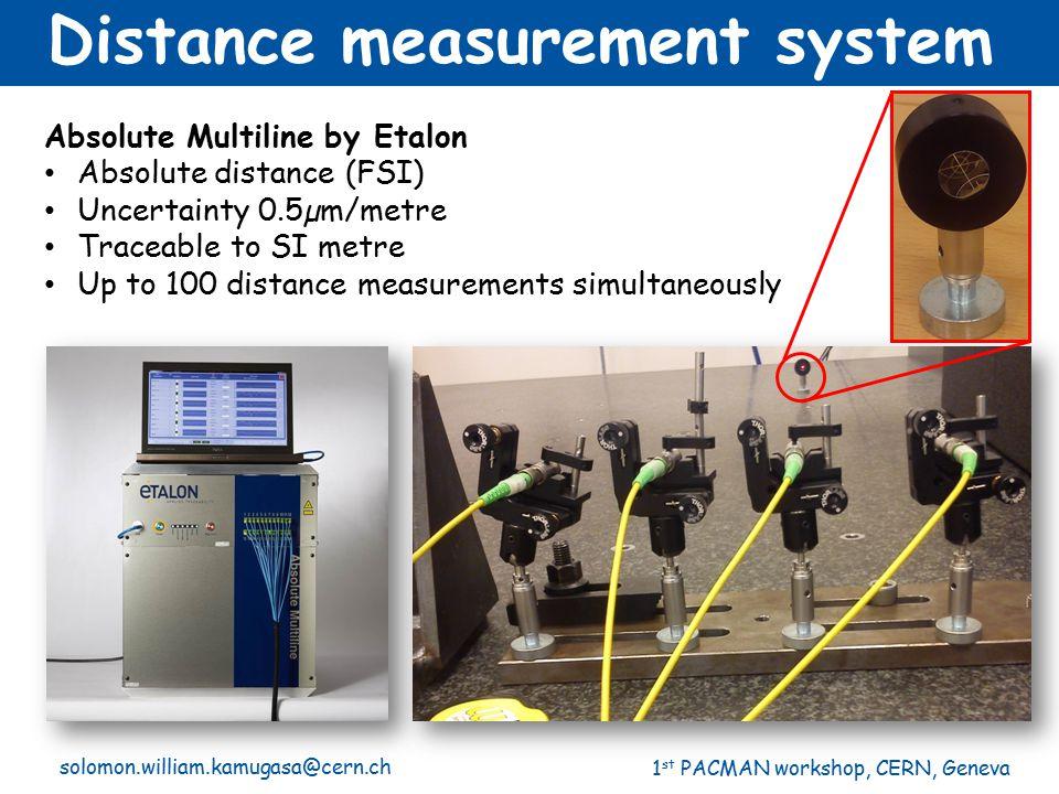 Distance measurement system