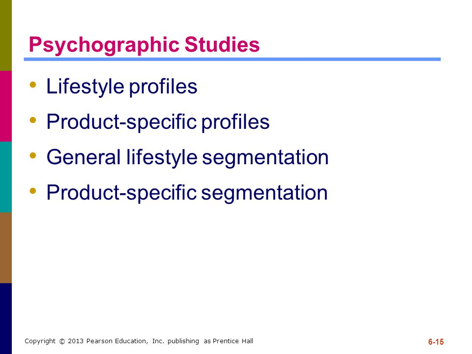 Psychographic Studies