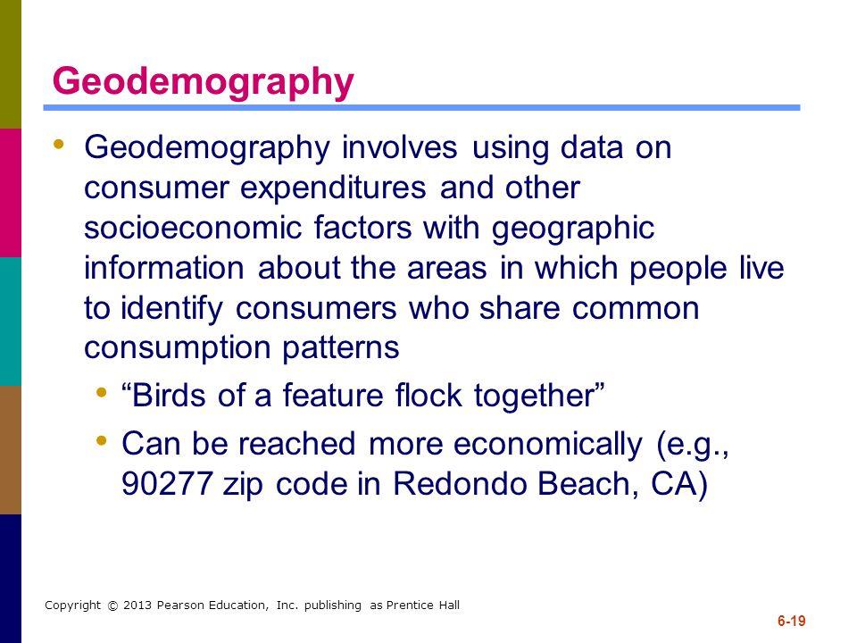 Geodemography