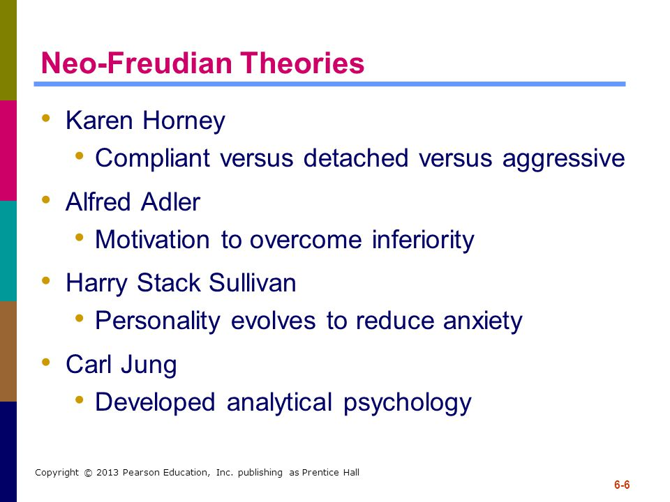 Neo-Freudian Theories