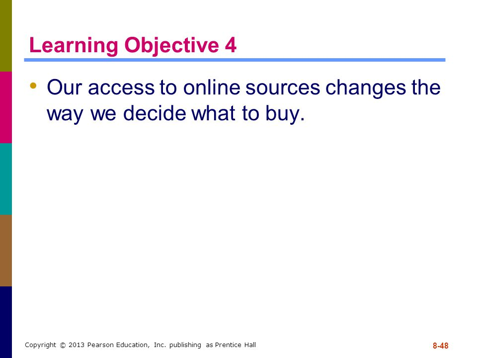 Our access to online sources changes the way we decide what to buy.