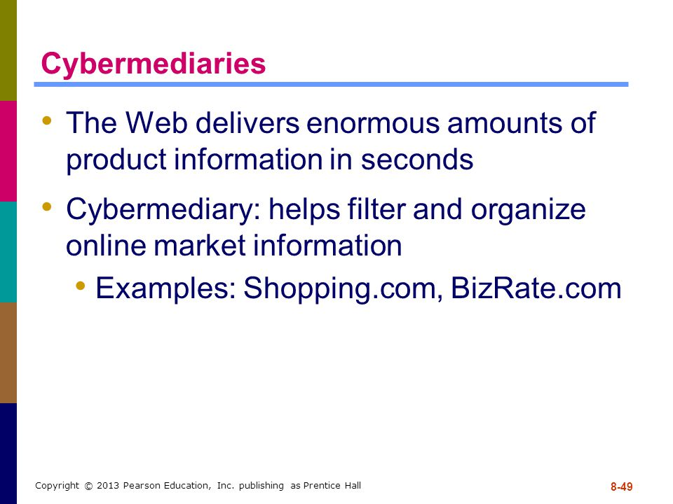 The Web delivers enormous amounts of product information in seconds