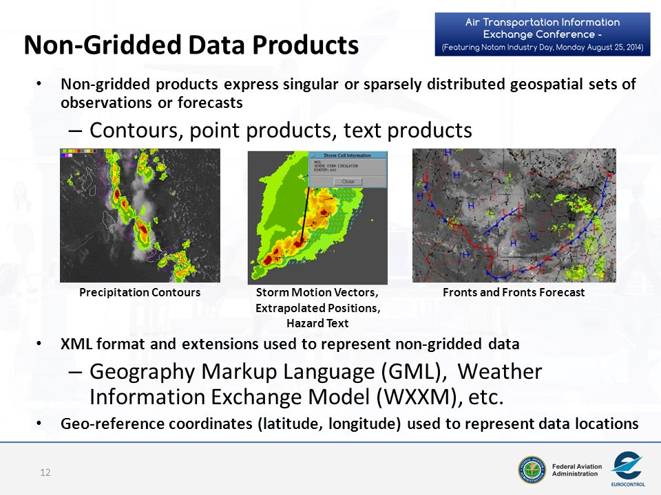 Non-Gridded Data Products