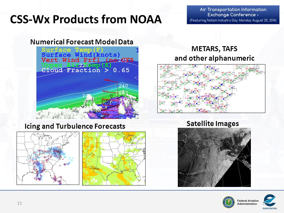 CSS-Wx Products from NOAA