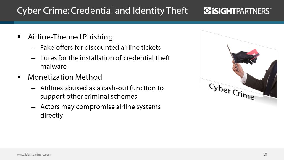 Cyber Crime: Credential and Identity Theft