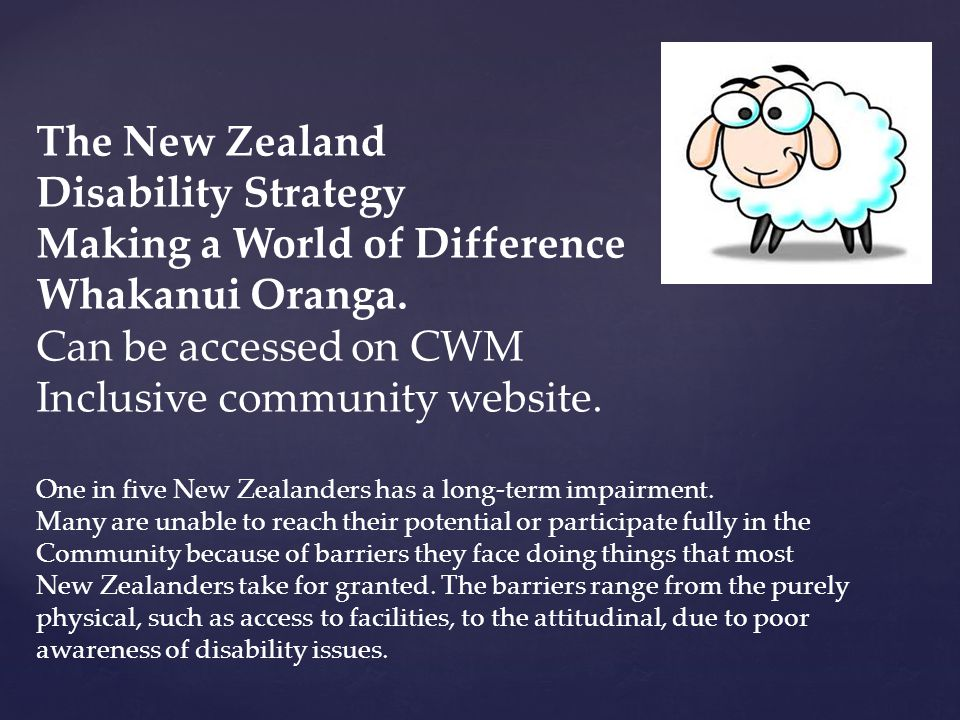 Making a World of Difference Whakanui Oranga. Can be accessed on CWM