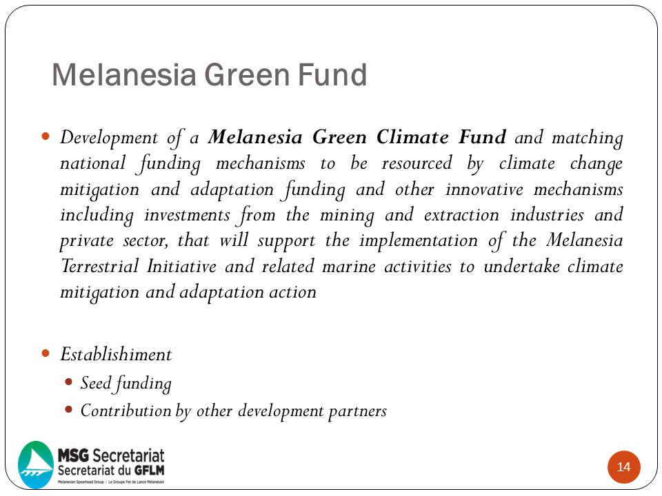 Melanesia Green Fund