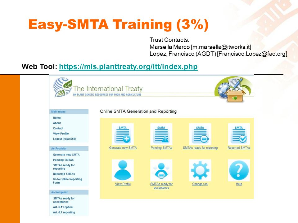 Easy-SMTA Training (3%)