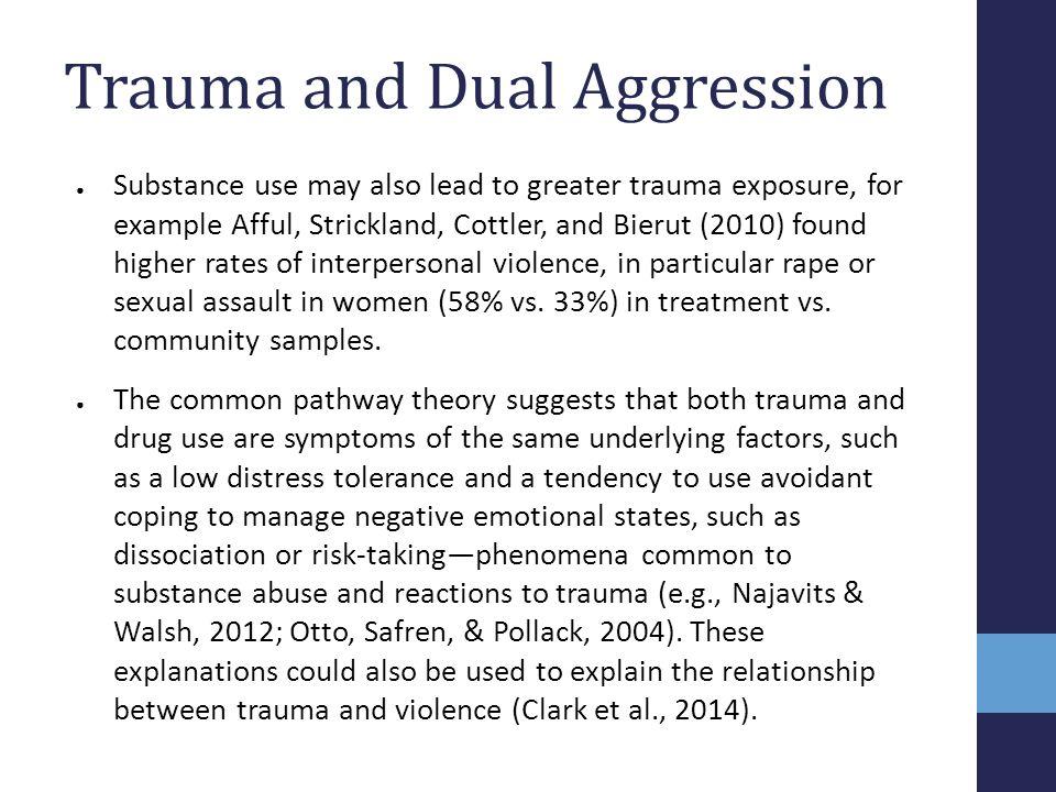 Trauma and Dual Aggression