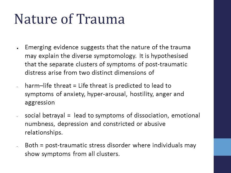 Nature of Trauma