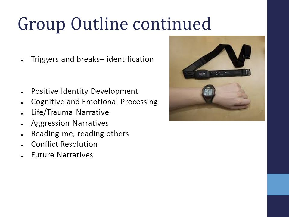 Group Outline continued