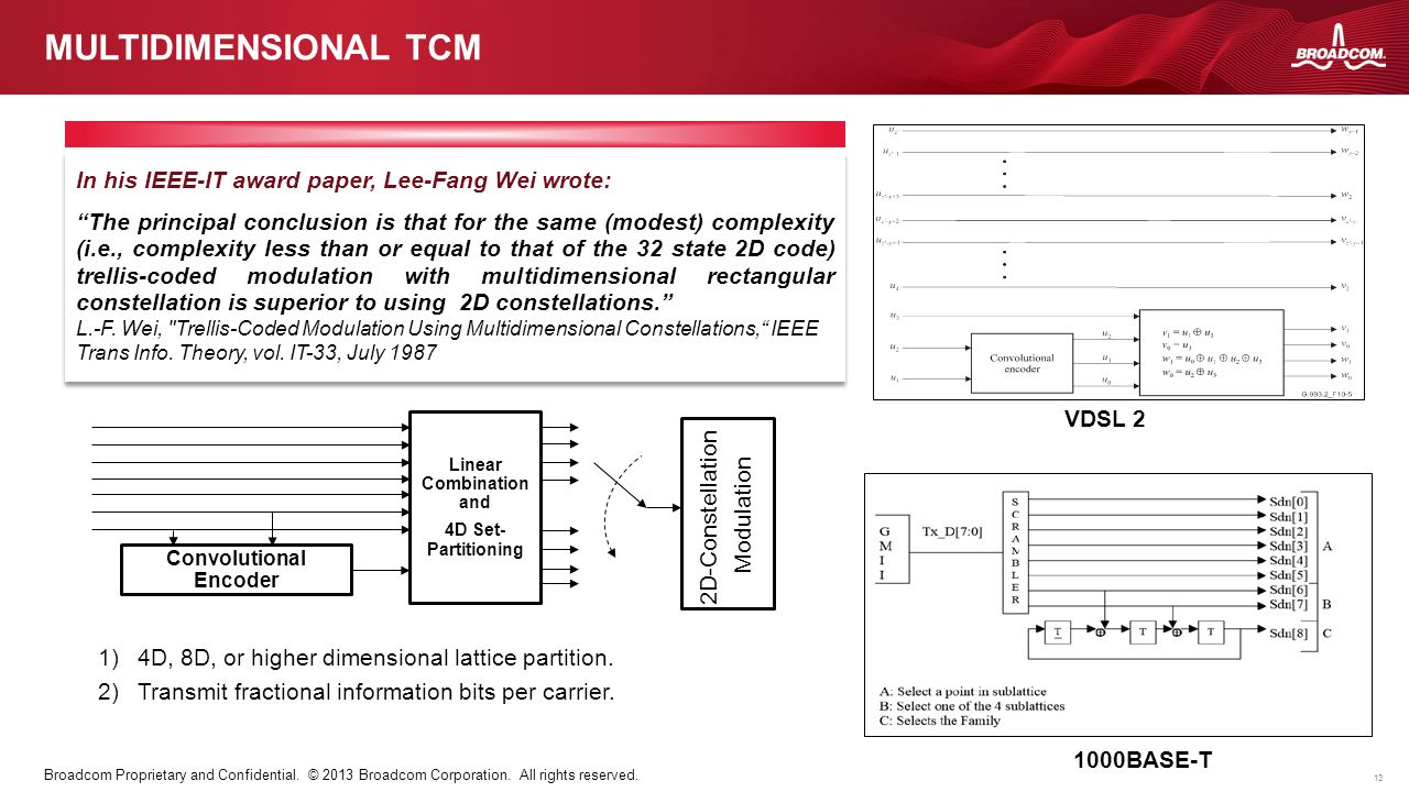 Convolutional Encoder Linear Combination and