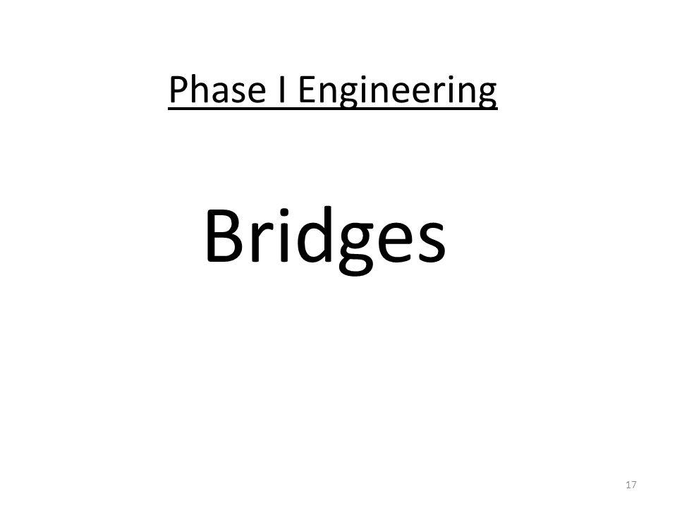 Phase I Engineering Bridges