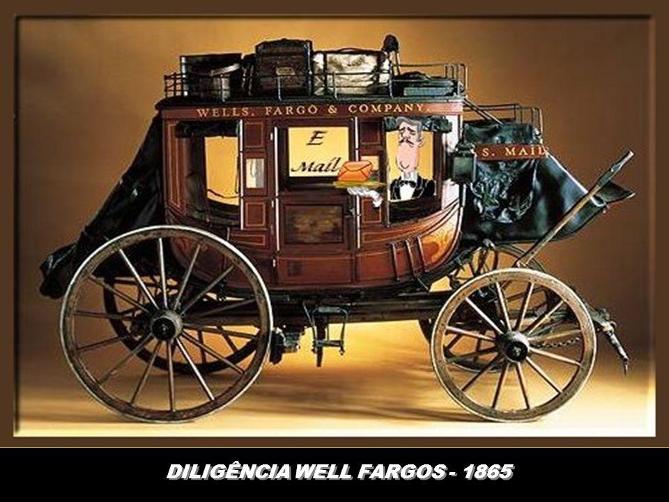 DILIGÊNCIA WELL FARGOS - 1865