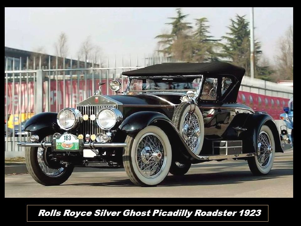 Rolls Royce Silver Ghost Picadilly Roadster 1923
