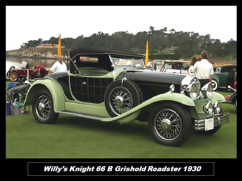 Willy's Knight 66 B Grishold Roadster 1930
