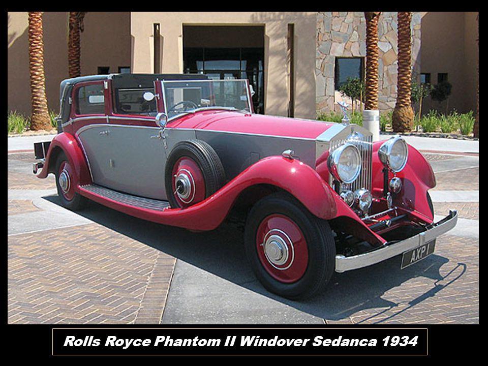 Rolls Royce Phantom II Windover Sedanca 1934