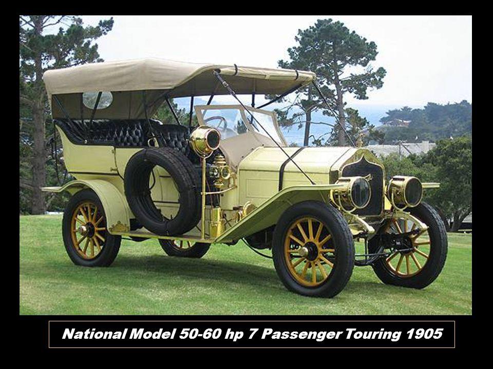 National Model 50-60 hp 7 Passenger Touring 1905