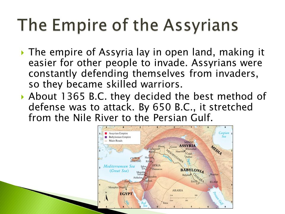 The Empire of the Assyrians