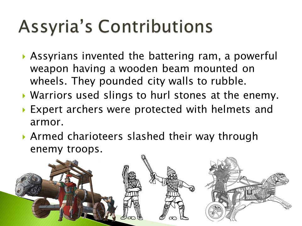 Assyria's Contributions