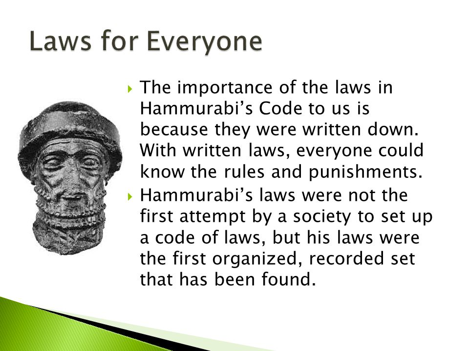 Laws for Everyone