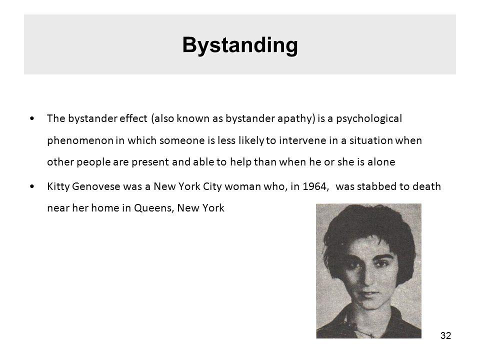 Bystanding