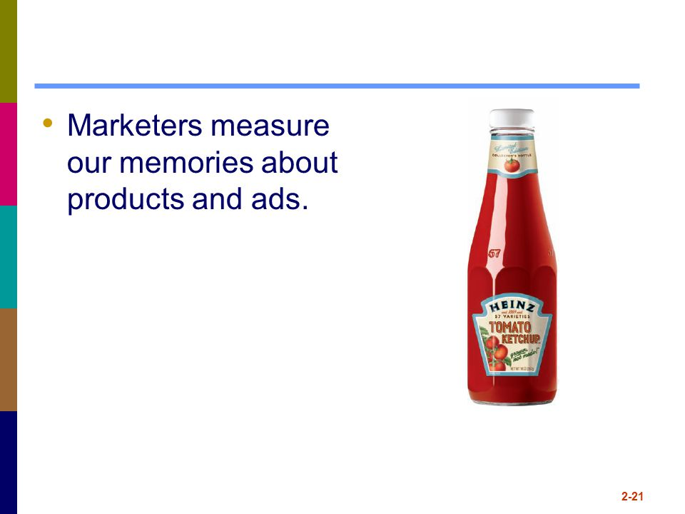 Marketers measure our memories about products and ads.