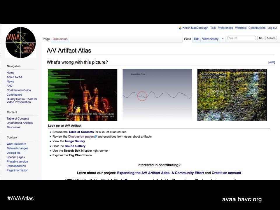 avaa.bavc.org #AVAAtlas An wiki was born