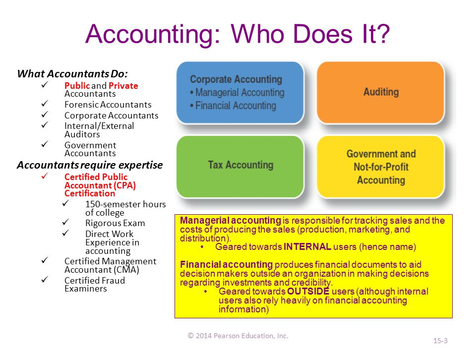 Accounting: Who Does It