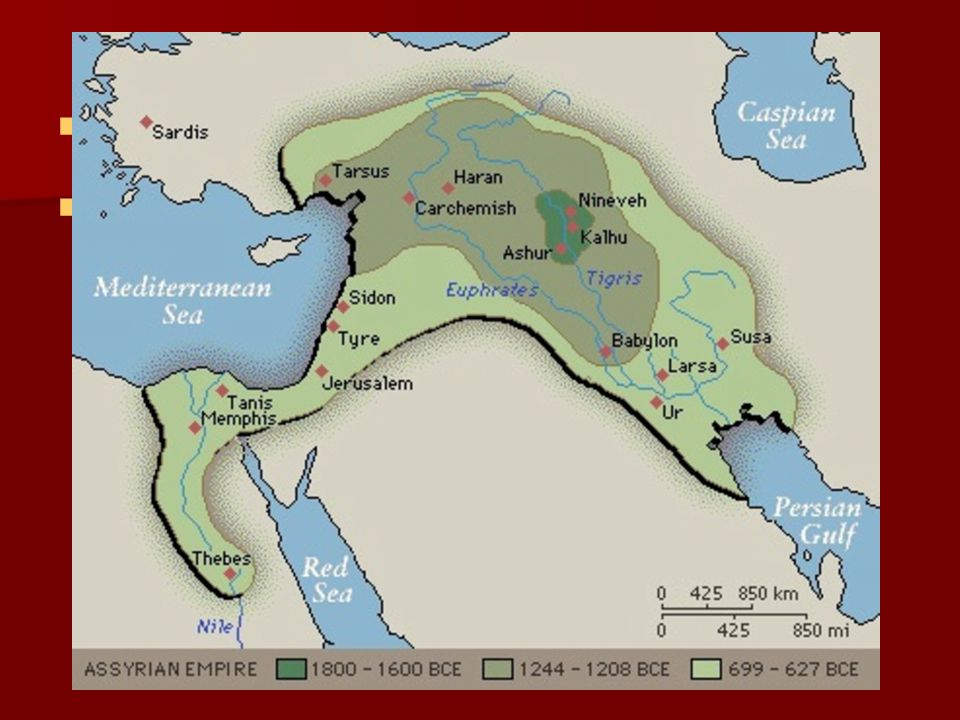 The Rise of New Empires The independent state of Israel was conquered by larger empires.