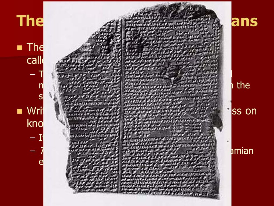 The Creativity of the Sumerians