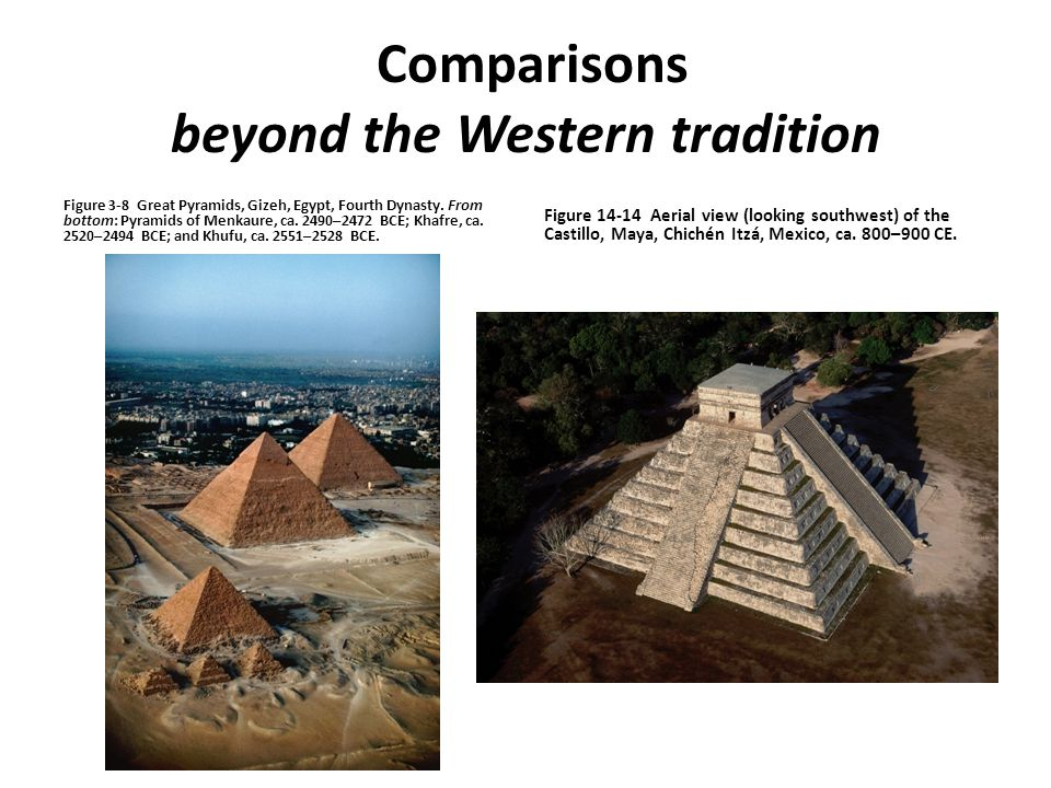 Comparisons beyond the Western tradition