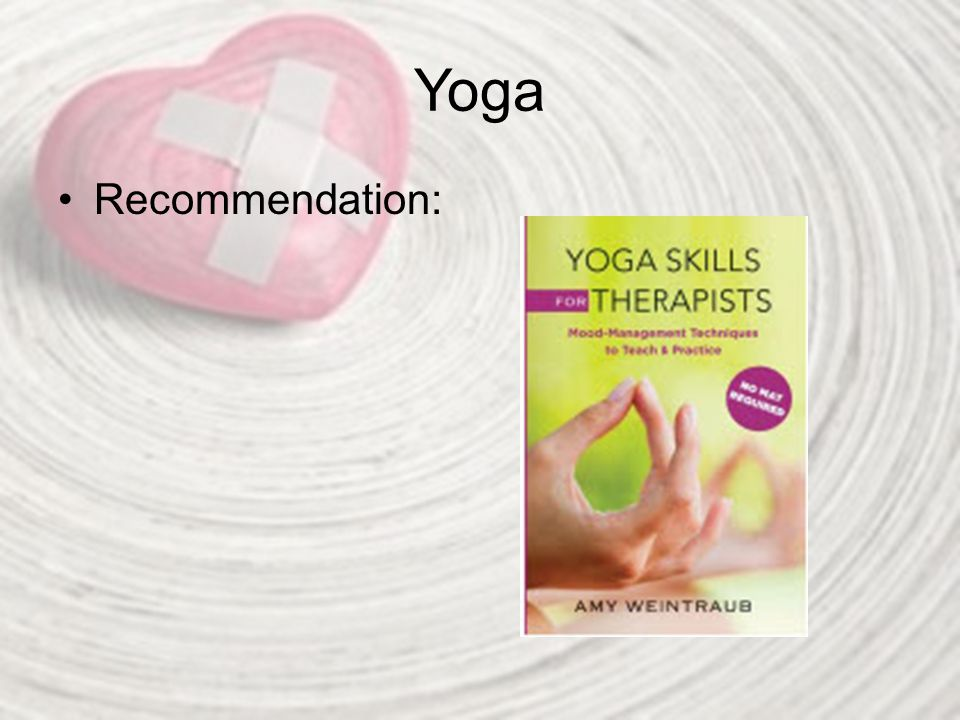 Yoga Recommendation: