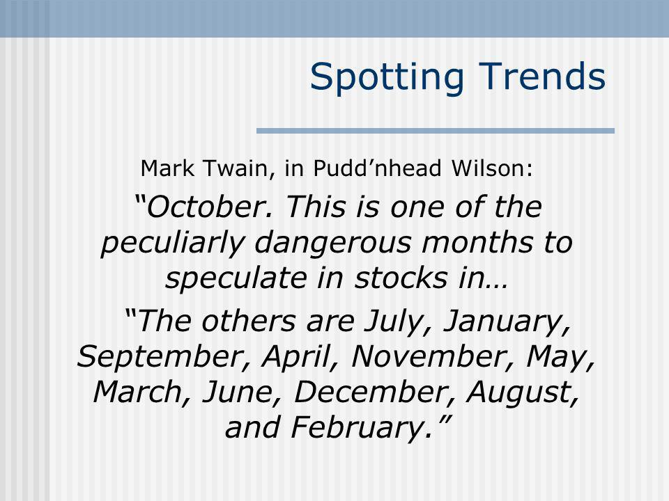 Mark Twain, in Pudd'nhead Wilson:
