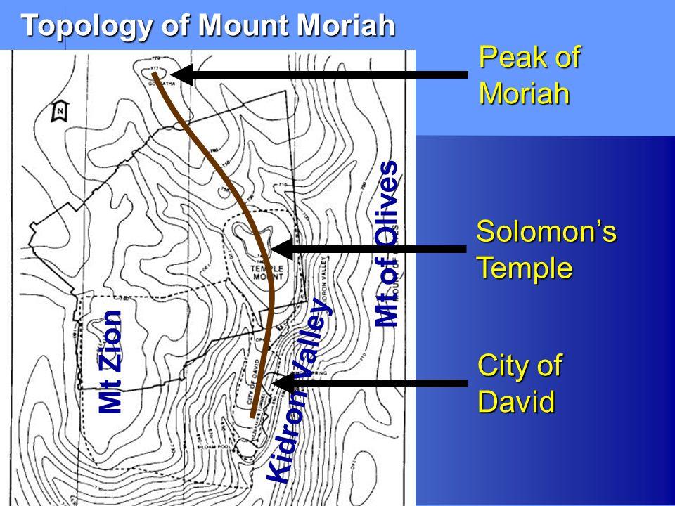 Topology of Mount Moriah